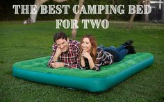 I've just woken from an uncomfortable night's sleep while camping, and I thought, there must be a much better camping bed for two than the current setup we have. Doing just a quick bit of research, I found an entire catalog of airbeds for two that would improve my camping experience. A great camping bed will offer comfort and ease of use. In our research, we found the best camping bed for two is the Coleman Queen Airbed. Sun Lounger, Catalog, Sleep, Camping, Good Things, Night, Bed, Campsite, Chaise Longue