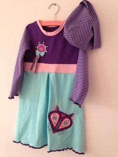 ♥ Luusmeitlifashion ♥ Mädchenkleid und Mütze kostenlose Schnittmuster Freebookhttp://muggelchens-kuschelwear.blogspot.ch/2013/09/schnabelina-kapuzenkleid.html