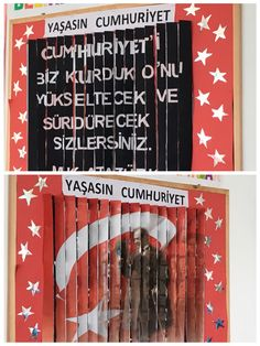Cumhuriyet Bayramı Panosu