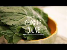Receita Light: Chips de Couve com Fatias de Peito de Peru Light - Lucilia Diniz