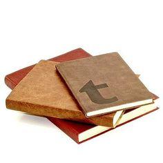 Leatherbound notebooks