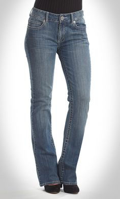 Bootcut jeans for the tall woman! <3