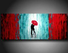Color inspiration, red teal/blue/green