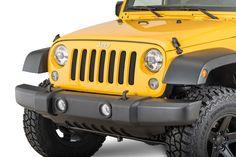 Rugged Ridge Grille Screen for 07-17 Jeep® Wrangler & Wrangler Unlimited JK | Quadratec