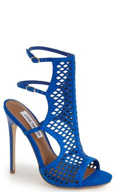 Amp up the drama with these cutout stiletto heels that are perfect for a night out on the town.