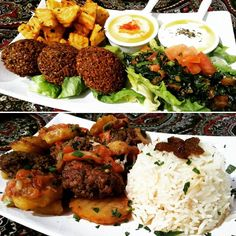 La #domenica a pranzo il Ristorante Beirut vi propone un menù fisso al costo di 20 a persona. Il menù comprende: -un piatto di #mezzeh (#antipasti) composto da #falafel #tabboule patata harra #hummus e #labne. - Riso pilaf con #kafta (polpette di carne) e verdure ( o alternativa veg: riso pilaf con verdure in salsa) - una bibita a testa a scelta tra acqua coca cola o fanta -coperto incluso.  È gradita la prenotazione.