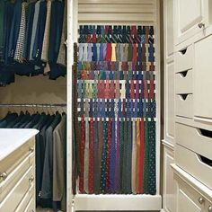 Tie Storage I Can Make Room In My Dream Closet For Ryan S Ties
