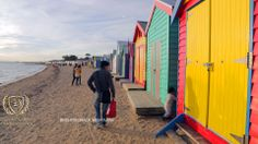 most livable city in the world Beach Houses, Photos For Sale, Image Collection, Brighton, Travel Photos, Melbourne, Times Square, Colorful, Culture
