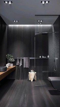 Home Room Design, Dream Home Design, Home Interior Design, House Design, Luxury Interior, Industrial Interior Design, Diy Interior, Modern Interior Design, Bad Inspiration