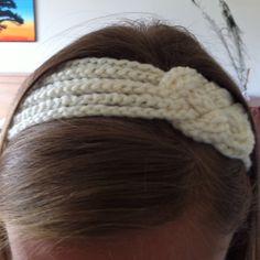 Crocheted headband
