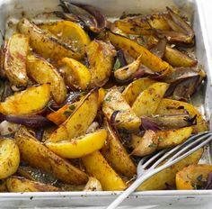 Mardi Gras Cajun-Spiced Potato Wedges