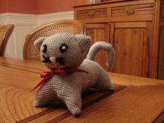 Petit chat...au tricot