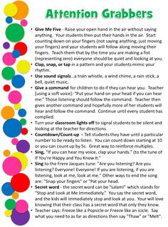 I Love 2 Teach: Back to School Success Kit - Attention Grabber ideas and…