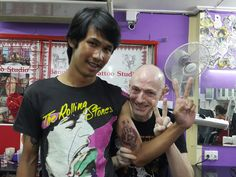 #tattoo school thailand#don by Frans#