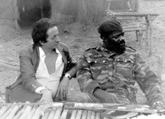 Dominique de Roux et Jonas Savimbi.