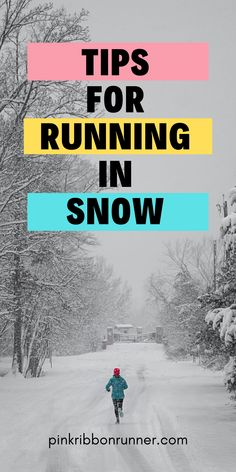 Winter is here. Are you prepared for cold weather running? Learn how to run in snow! Cold Weather Running, Running In Snow, Running Form, Winter Running, Running Half Marathons, Marathon Running, Running Workouts, Fun Workouts, Learn To Run