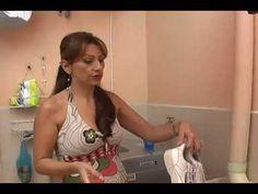 Hágalo fácil: Tenis de cuero más blancos en segundos - YouTube
