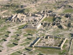 Sasanian Empire - Bishapur was an important Sasanian city in Iran, founded by king Shapur I.