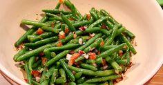 Jeg synes at grønne bønner smager ret godt, og når de er fra frost er de virkelig nemme at håndtere. Jeg tænker at jeg vil lave disse salat...