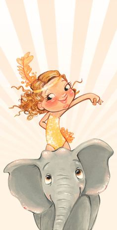 Illustration was inspired by the movie Water for Elephants.