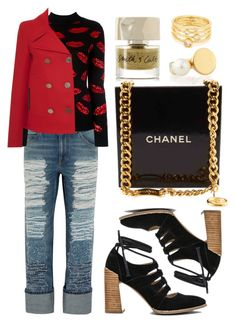 """""""Lips"""" by cherieaustin ❤ liked on Polyvore featuring Chloé, Alexander McQueen, Yves Saint Laurent, Seychelles, Chanel, Smith & Cult, Bally and Gorjana"""
