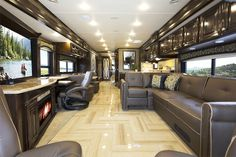 2015 Tuscany Luxury Diesel Motorhomes: Class A Diesel Pusher by Thor Motor Coach