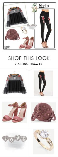 """""""SheIn"""" by terzic-e ❤ liked on Polyvore featuring WithChic"""