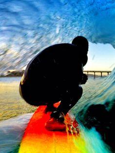 Derek Dunfee with a self-portrait at San Diego.