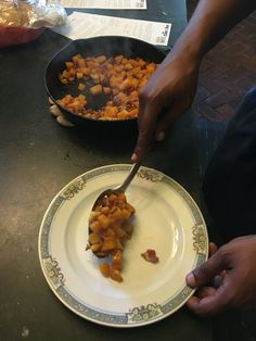 Chef Ric is dishing up homemade sweet potatoes! http://www.stayva.org/inns/essex-inn-bed-and-breakfast/