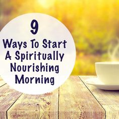 9 Morning Rituals Mindful People Do – Change your Life and Make Yourself more Productive
