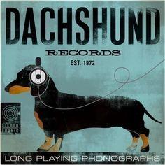 vintage posters with dogs | Gravhund, dachshund, dog, poster, plakat, vintage, indretning ...