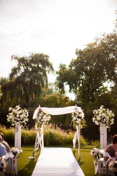 Floral Ceremony Arch  #ceremonyarch #arch #wedding