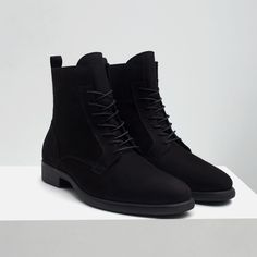 Image 4 of SOFT LEATHER BOOT from Zara