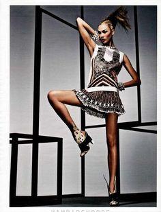 Karlie Kloss in W Magazine