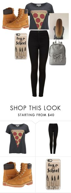 """""""škola"""" by ivana-milovanovic ❤ liked on Polyvore featuring Wildfox, Topshop, Timberland, Casetify and Candie's"""