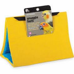 Small Yellow Snuggle Hut for Birds by Prevue Pet 1163