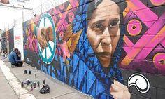 RECONOCEN A GRAFFITEROS EN IZTAPALAPA #art #graffiti