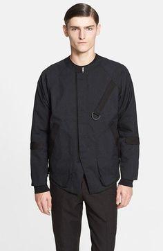 Men's Alexander Wang Water Resistant Poplin Bomber Jacket