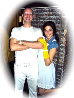 Smog Blog Thank you Mr. Clean!  sc 1 st  Pinterest & Mr. Clean and his Maid - Halloween Costume Contest at Costume-Works ...