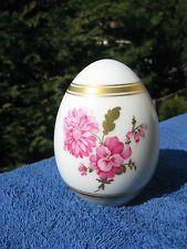 Vintage KPM  1976 Limited Edition  Porcelain Egg with Floral Design Ltd.Ed.