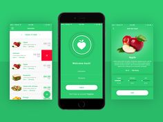 FitApp Dribbble by Symu.co