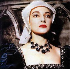 Maria Callas - I love her as Anna Bolena!