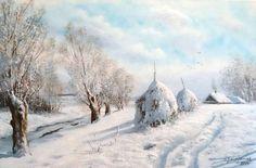 зимний день Marek Szczepaniak
