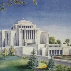 Beautiful Cardston Ab temple