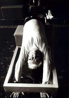 Joesph Pilates in 1961 #pilates