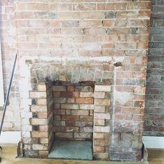 Exposed brickwork...Autumn project!