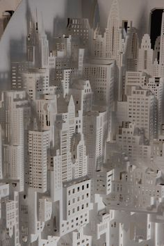 Origami architect Ingrid Siliakus and her cities made of cut and folded paper. Origami architect, Ingrid Siliakus, can spent up to two months painstakingly creating entire cities purely from folding pieces of paper. From New York-style skyscrapers...
