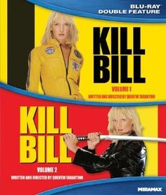 Kill Bill: 1 and 2 Double Feature Blu-ray