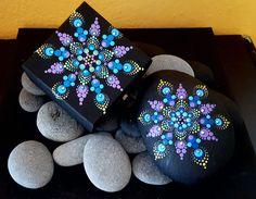 BarbaraMandalaTFS#32 Mandala Peacock Jewellery Box#Summer 2017 by BarbaraMandalaTFS on Etsy