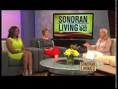 Sarah McLean discusses the benefits of meditation on Sonoran Living - YouTube
